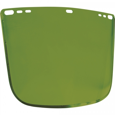 Jackson Safety - 29082 - F30 Acetate Face Shield - 15-1/2 x 9 x 0.04 - Acetate - Green - Unit Price