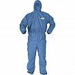 Kimberly-Clark - 45027 - Kleenguard™ A60 Coveralls - Polypropylene - Blue - 4X-Large - Unit Price