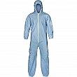 Lakeland - 07428B-M  - Pyrolon® Plus 2 FR Coveralls - FR Treated Fabric - Blue - Medium - Unit Price