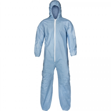 Lakeland - 07428B-XL - Pyrolon® Plus 2 FR Coveralls - FR Treated Fabric - Blue - X-Large - Unit Price