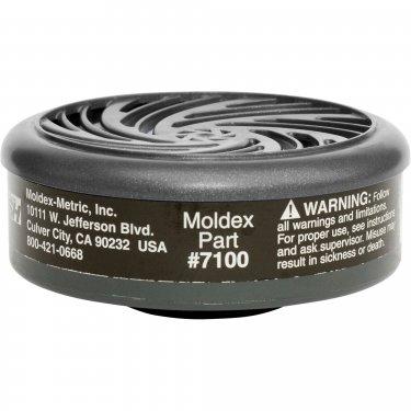 Moldex - 7100 - 7000/9000 Series Respirator Filters - Gas/Vapour Cartridge - Organic Vapour - NIOSH - Price per pair