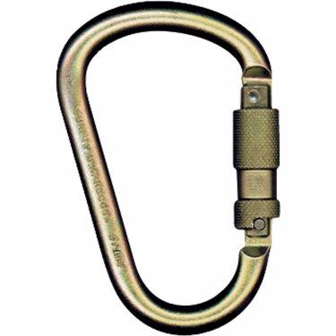 MSA - 10089207 - Carabiners - Capacity: 5000 lbs - Steel - Gate Opening: 1 - Unit Price