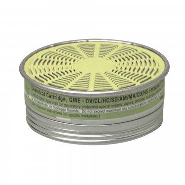 MSA - 492790 - Comfo® Respirator Cartridges - Gas/Vapour Cartridge - Multi Gas/Organic Vapour - NIOSH - Unit Price