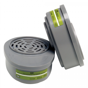 MSA - 815359 - Advantage® Respirator Cartridges - Gas/Vapour Cartridge - Multi Gas/Organic Vapour - NIOSH - Pair Price