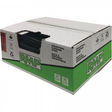RMP - JM683 - Contractor Garbage Bags - 1.9 mils - 35 x 50 - Black - Box of 75