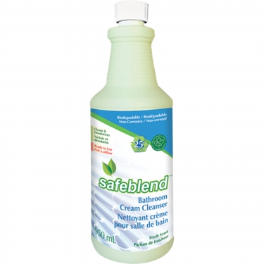 Safeblend - BLFRF0D - Bathroom Cream Cleaner - 950 ml - Price per bottle