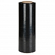 Sigma - HAA151580 - Black Opaque Hand Stretch Wrap - 80 Gauge (20.3 micrometers) - 15 x 1500' - Price per 1 Roll