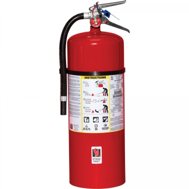 Strike First Corporation - SFABC1020 - Steel Dry Chemical ABC Fire Extinguishers - Class A/Class B/Class C - 20 lbs - Unit Price