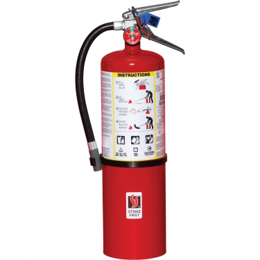 Strike First Corporation - SFABC680 - Steel Dry Chemical ABC Fire Extinguishers - Class A/Class B/Class C - 10 lbs - Unit Price