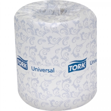 Tork - TM1601A - Universal Toilet Paper - 156.25' - White - Price per Case of 48 Rolls of 500 Sheets