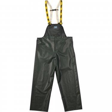 Viking - 4110P-S - Journeyman Chemical Resistant Rain Bib Pants - Polyester/PVC - Green - Small - Unit Price