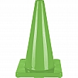 Zenith Safety Products - SEH139 - Coloured Cones - Height: 18 - Green - Unit Price