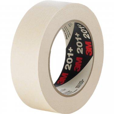 3M - 201+18X55 - 201+ General Use Masking Tape - 18 mm (3/4) x 55 m (180') - Tan - Unit Price