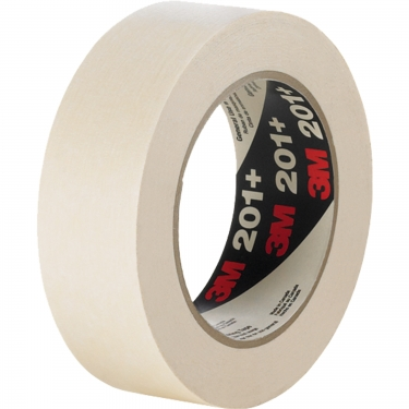3M - 201+-24X55 - 201+ General Use Masking Tape - 24 mm (1) x 55 m (180') - Tan - Unit Price