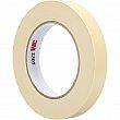 3M - 2307-12X55 - Masking Tape - 12 mm (1/2) x 55 m (180') - Tan - Unit Price