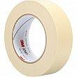 3M - 2307-36X55 - 2307 Masking Tape - 36 mm (1-1/2) x 55 m (180') - Tan - Unit Price