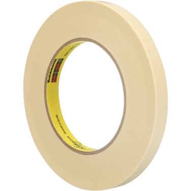 3M - 232-12X55 - Scotch® High-Performance Masking Tape - 12 mm (1/2) x 55 m (180') - Tan - Unit Price