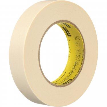3M - 250-1X60 - Scotch® Flatback Masking Tape - 24 mm (1) x 55 m (180') - Tan - Unit Price