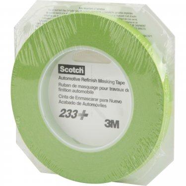 3M - 26346 - Scotch® 233 Masking Tape - 12 mm (1/2) x 55 m (180') - Green - Unit Price