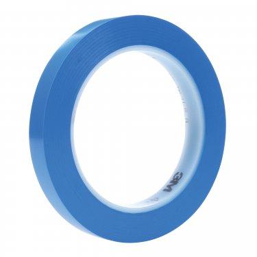 3M - 36404 - 471+ Vinyl Tape - 3 mm (1/8) x 32.9 m (108') - 5.3 mils - Blue - Unit Price