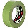 3M - 401+36X55 - 401+ High Performance Masking Tape - 36 mm (1-1/2) x 55 m (180') - Green - Unit Price