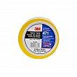 3M - 471-1/2X36-YLW-IW - 471 Vinyl Tape - 12 mm (1/2) x 32.9 m (108') - 5.2 mils - Yellow - Unit Price