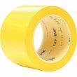 3M - 471-3X36-YLW - 471 Vinyl Tape - 76.2 mm (3) x 32.9 m (108') - Yellow - Unit Price