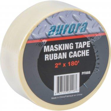 Aurora Tools - PF888 - General Purpose Masking Tape - 48 mm (2) x 55 m (180') - Beige - Unit Price
