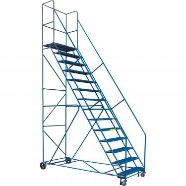 Kleton - MA625 - Rolling Step Ladders