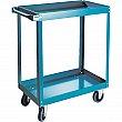 Kleton - MB493 - Knocked-Down Shelf Carts - 2-Shelf Utility Trucks  - Steel - 2 Shelves - Capacity 900 lb - 24 x 36 x 36 - Unit Price