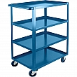 Kleton - ML094 - Heavy-Duty Shelf Carts  - Steel - 4 Shelves - Capacity 1200 lb - 24 x 48 x 48 - Unit Price