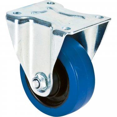 Kleton - ML334 - Blue Caster - Rubber - Rigid - Capacity 350 lbs. (159 kg.) - 4 (102 mm) - Unit Price
