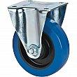 Kleton - ML338 - Blue Caster - Rubber - Rigid - Capacity 400 lbs. (181 kg.) - 5 (127 mm) - Unit Price