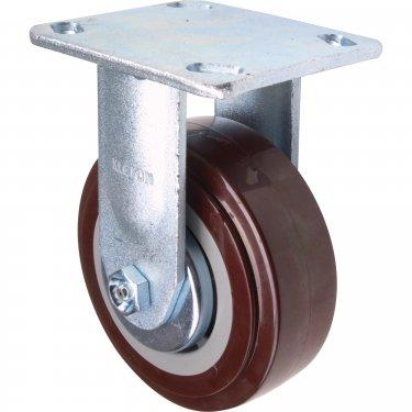 Kleton - ML398 - Caster - Polyurethane - Rigid - Capacity 650 lbs. (294 kg.) - Brown - 5 (127 mm) - Unit Price
