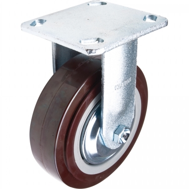 Kleton - ML400 - Caster - Polyurethane - Rigid - Capacity 850 lb (385 kg) - Brown - 6 (152 mm) - Unit Price