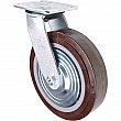 Kleton - ML401 - Caster - Polyurethane - Swivel - Capacity 1000 lbs. (454 kg.) - Brown - 8 (203 mm) - Unit Price