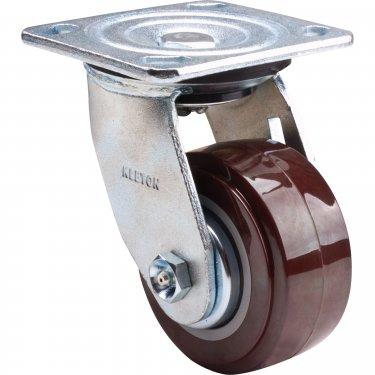 Kleton - ML441 - Caster - Polyurethane - Swivel - Capacity 550 lbs. (249 kg.) - Brown - 4 (102 mm) - Unit Price