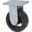 Kleton - ML847 - Mold-on Caster - Rubber - Rigid - Capacity 400 lbs. (181 kg.) - Black - 5 (127 mm) - Unit Price