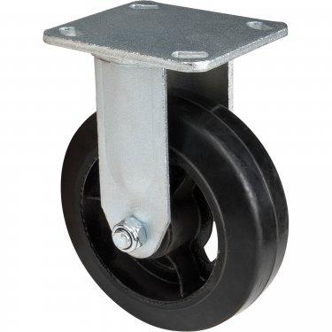 Kleton - ML850 - Mold-on Caster - Rubber - Rigid - Capacity 500 lbs. (227 kg.) - Black - 6 (152 mm) - Unit Price