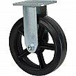 Kleton - ML853 - Mold-on Caster - Rubber - Rigid - Capacity 600 lbs. (272 kg.)s - Black - 8 (203 mm) - Unit Price