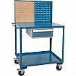 Kleton - MP085 - Mobile Service Cart  - Steel - 2 Shelves - Capacity 1200 lb - 24 x 40 x 57 - Unit Price