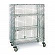 Metropolitan Wire - SEC33EC - Wire Shelf Cart  - Chrome Plated - 2 Shelves - Capacity 500 lb - 21-1/2 x 40 x 68-1/2 - Unit Price