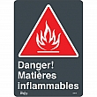 Zenith Safety Products - SGM754 - Matières Inflammables Sign Each