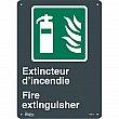 Zenith Safety Products - SGM771 - Extincteur D'Incendie/Fire Extinguisher Sign Each