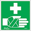 Zenith Safety Products - SGN075 - First Aid CSA Safety Sign Each