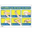Zenith Safety Products - SGU305 - N'oubliez pas de laver vos mains Sign Each