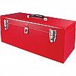 Aurora Tools - TEP336 - ATB100 21 Portable Tool Box With  Metal Tool Tray Each