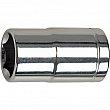 Aurora Tools - TLV496 - 1/4 Drive Accessories- 6-Point S.A.E Deep Length Sockets