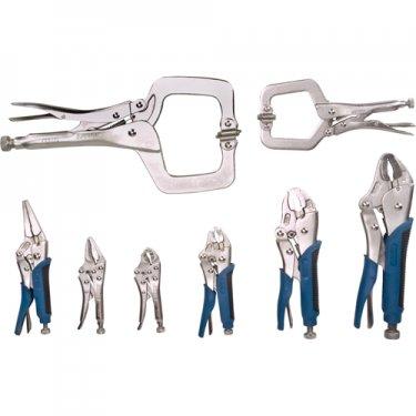 Aurora Tools - TLZ792 - 8-Piece Locking Plier Set