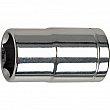 Aurora Tools - TYK797 - 1/4 Drive Accessories -6-Point S.A.E Deep Length Socket